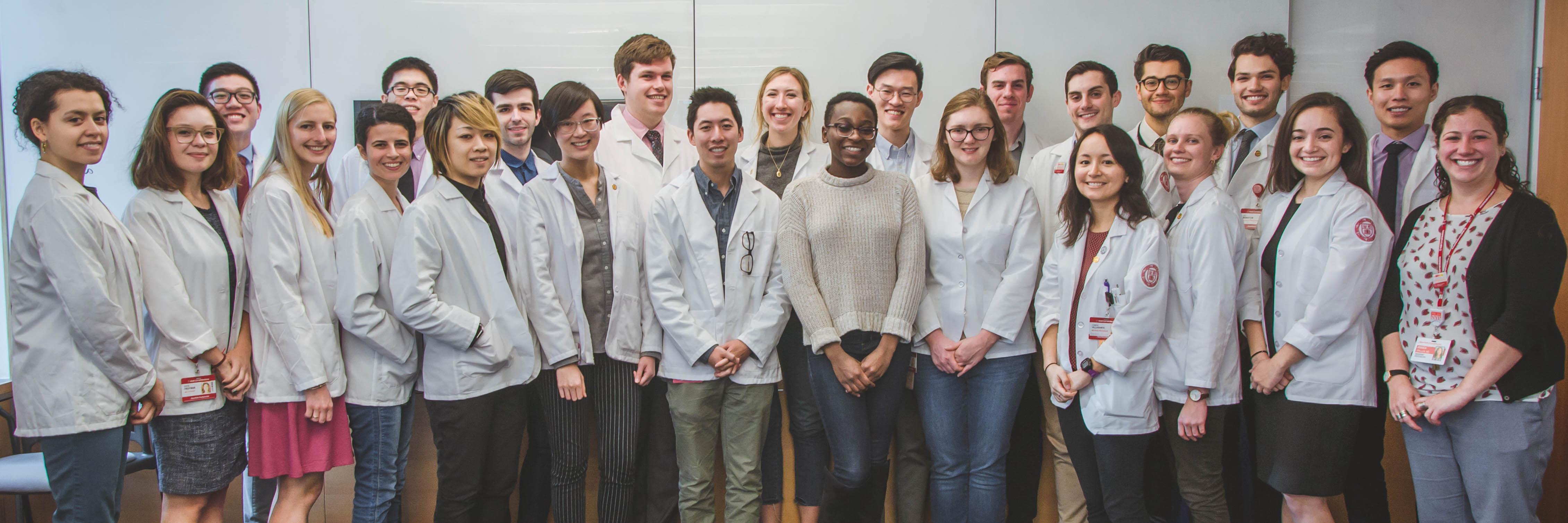 Weill Cornell Medicine Wellness Qlinic Staff Volunteers
